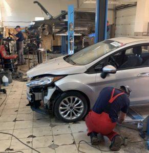 ремонт бампера машины, кузов, ДТП, рихтовка бамперов, СТО, Одесса, Болт